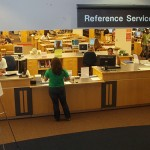 reference desk. quotations on libraries