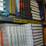 Book store shelf