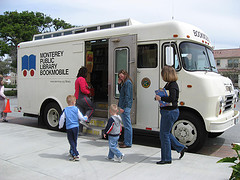 Bookmobile--library users
