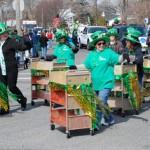 Library book cart drill team