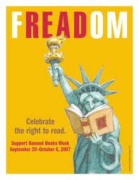 Freedom to read poster