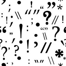 punctuation marks -- writing skills