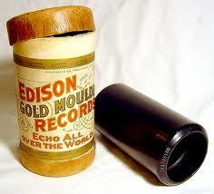 Wax cylinder (Edison)