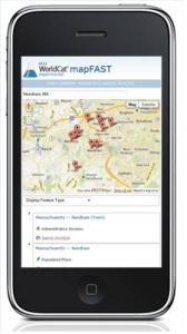 OCLC mapFAST mobile