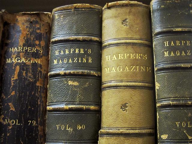 Bound periodicals -- post-literate society