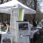 Earth day library exhibit