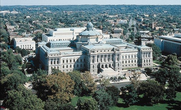 LOC Jefferson Building, end of term web archive