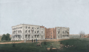 Capitol burned in war of 1812
