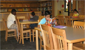 Elementary school library--quotations about libraries