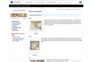 Library of Congress, Places in the News