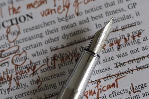 editing -- writing skills