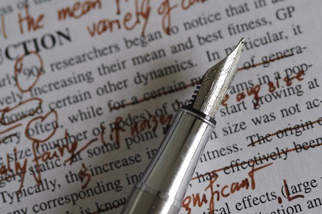 editing -- passive voice