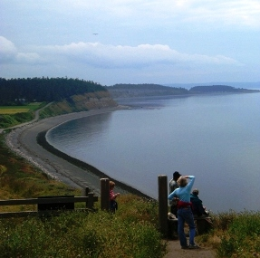 Ebey's landing, national park service
