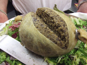 proof of the pudding haggis
