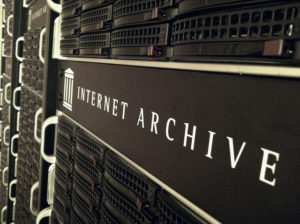 Internet Archive servers--end of term web archive