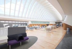 Florida Polytechnic University library without books